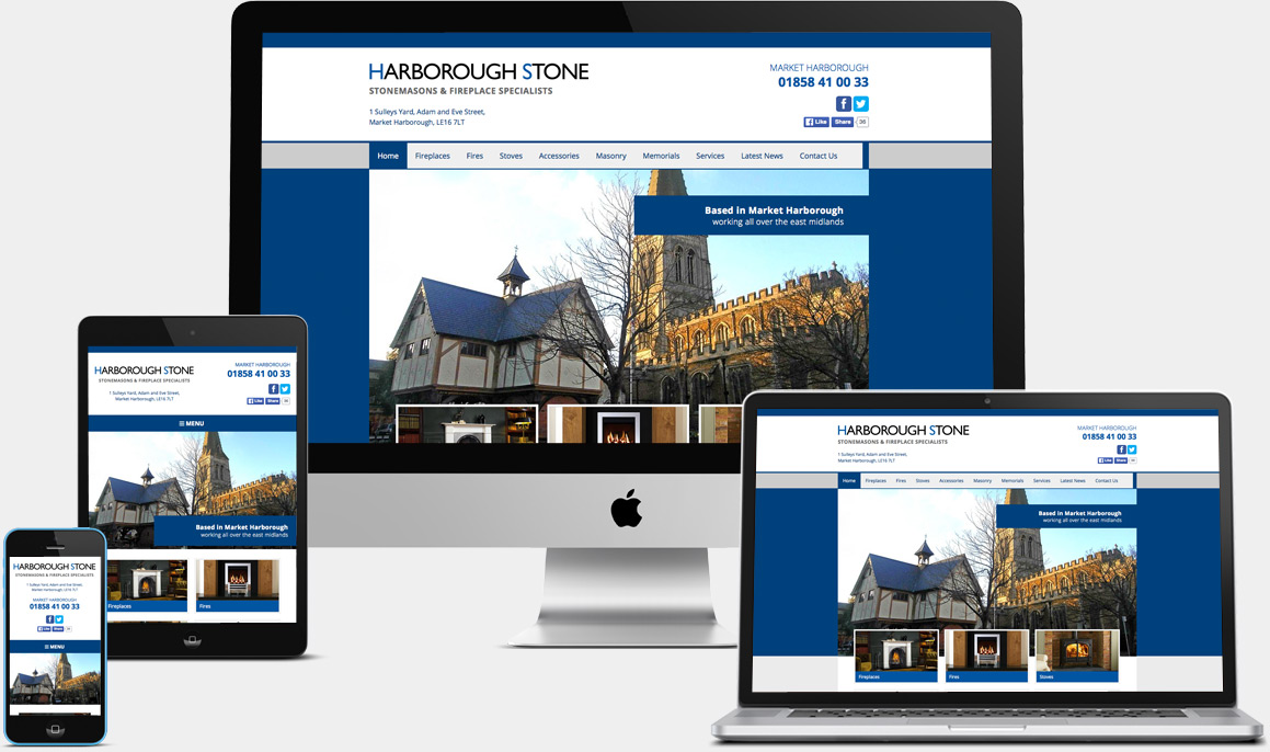 Harborough Stone Website